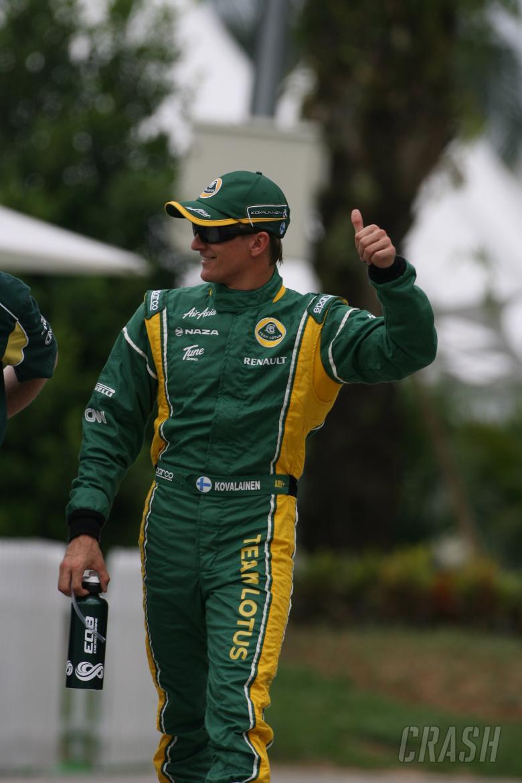09.04.2011- Qualifying, Heikki Kovalainen (FIN), Team Lotus, TL11