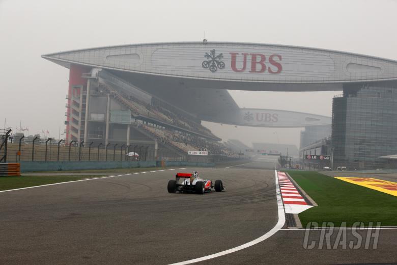 15.04.2011- Friday Practice 1, Lewis Hamilton (GBR), McLaren Mercedes, MP4-26