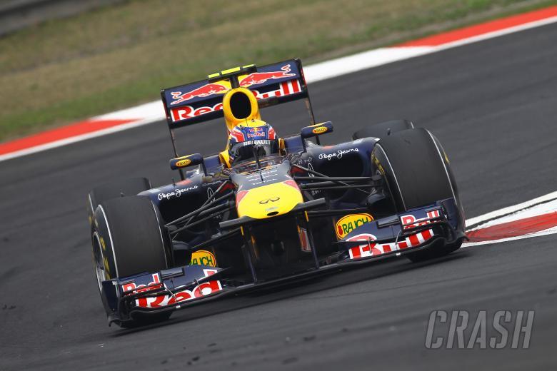 15.04.2011- Friday Practice 2, Mark Webber (AUS), Red Bull Racing, RB7