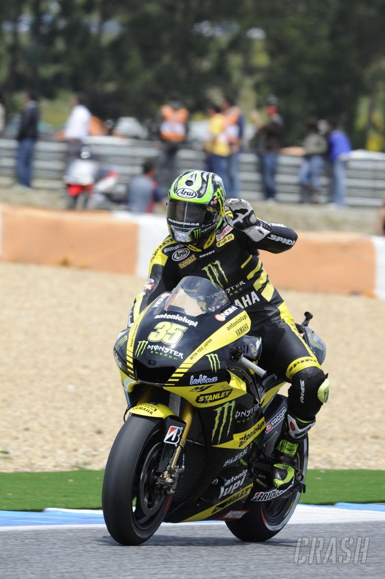 Crutchlow, Portuguese MotoGP Race 2011