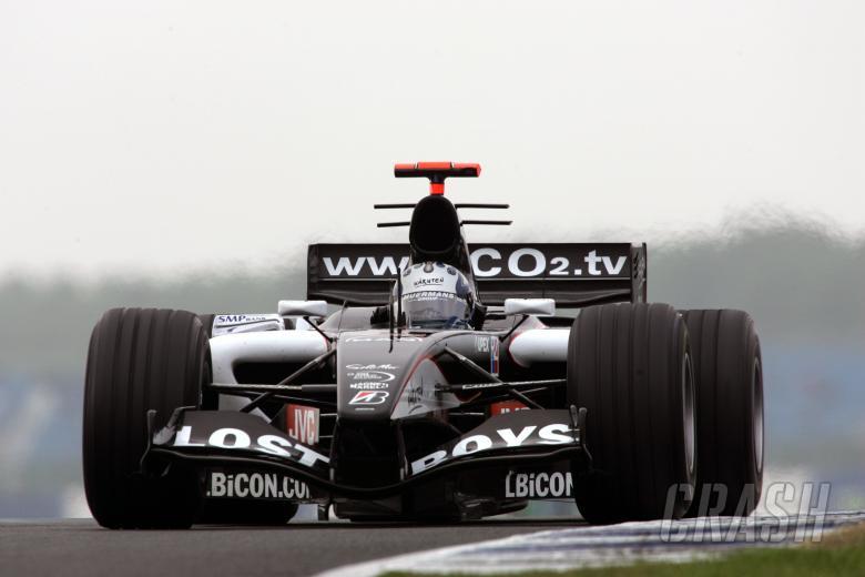 Patrick Friesacher - Minardi-Cosworth PS05