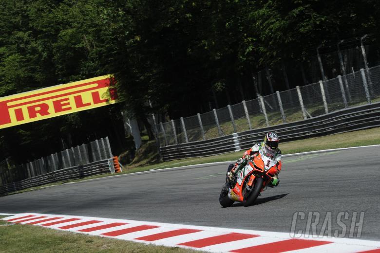 Biaggi, Monza WSBK Race 2 2011