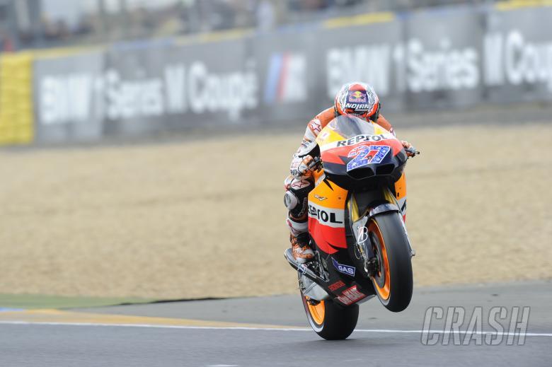 Stoner, French MotoGP 2011