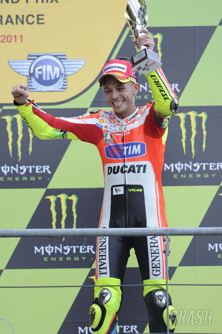 Rossi, French MotoGP Race 2011