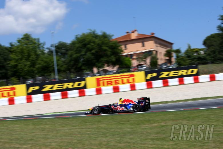 20.05.2011- Friday Practice 2, Mark Webber (AUS), Red Bull Racing, RB7