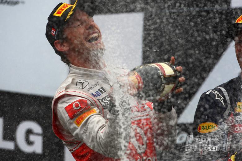 12.06.2011- Race, Jenson Button (GBR), McLaren Mercedes, MP4-26 race winner