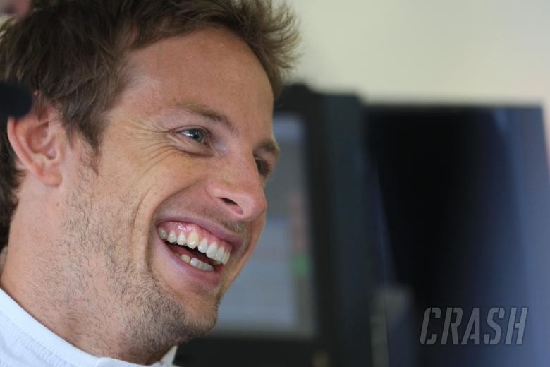 , - Jenson Button (GBR) McLaren Mercedes