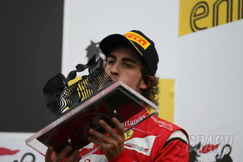 , - 31.07.2011 podium: 3rd Fernando Alonso (ESP), Scuderia Ferrari, F-150 Italia
