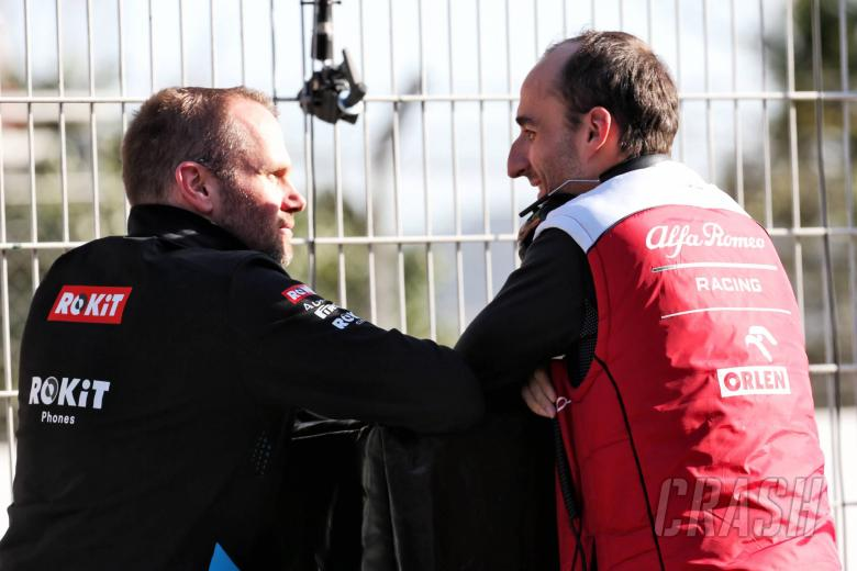 Kubica: I'm happy to see Williams recovering