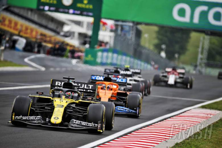 F1 Hungarian Grand Prix 2020 - Race Results