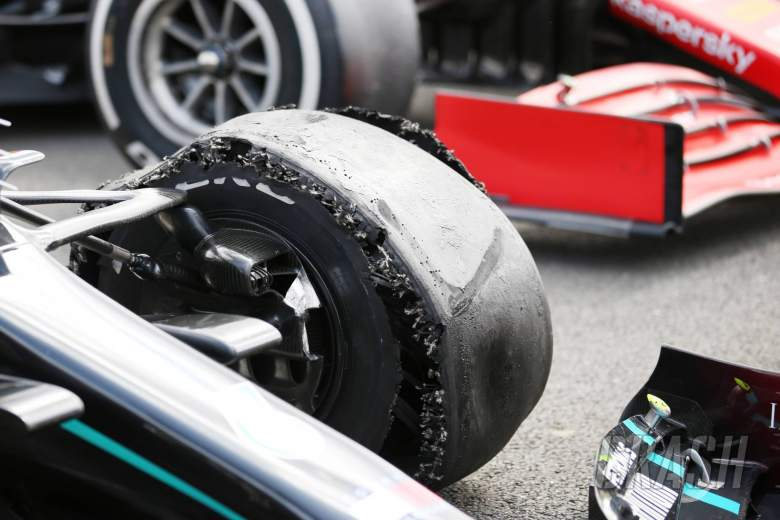 Long stints, highest ever forces caused British GP tyre failures