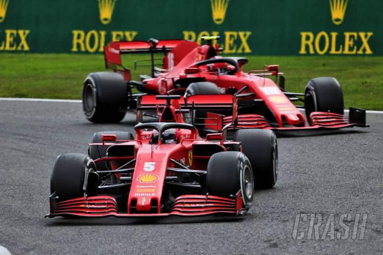 Vettel calls for 'togetherness' at Ferrari after Belgium F1 struggles