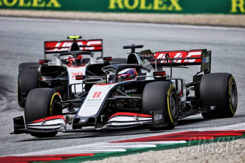 "Haas F1 team's future is ""the elephant in the room"" - Grosjean"