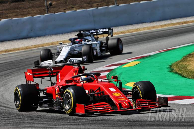 """Ferrari had """"nothing to lose"""" with one-stop F1 strategy - Vettel"""