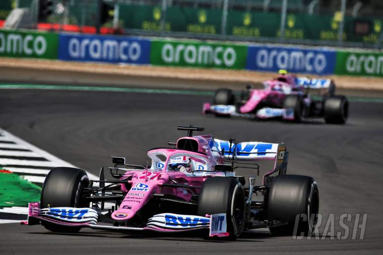 Racing Point F1 team reprimanded for using brake ducts again