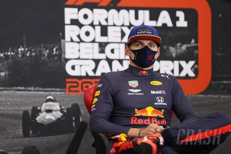 """Verstappen """"won't give up"""" in F1 title bid despite deficit to Mercedes"""