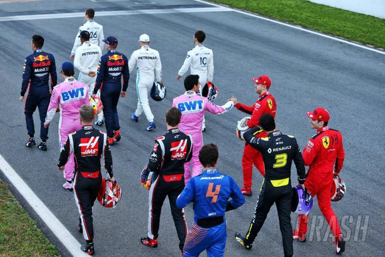 Who's driving when in F1 pre-season testing?