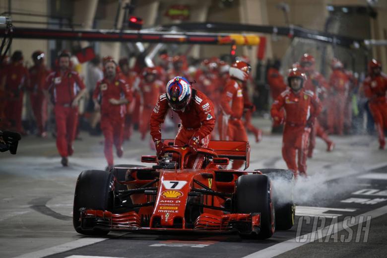 Raikkonen explains pit stop incident after mechanic injury