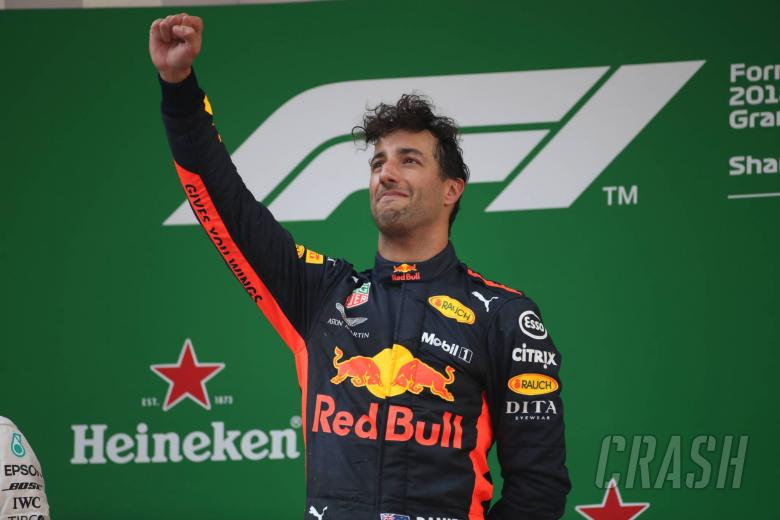 Ricciardo after two-year F1 deal, sets Red Bull wins target