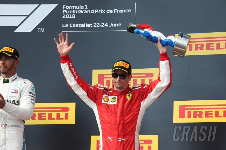 Raikkonen: F1 penalties balance out in the long run