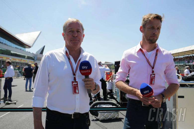 Button joins Sky Sports F1 for 2019