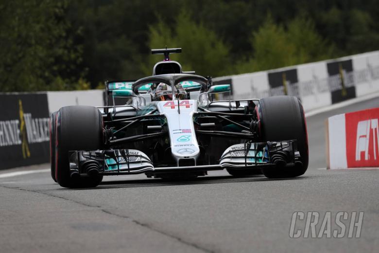 Hamilton takes Belgian GP pole as Force India locks out second row