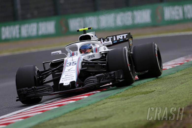 05.10.2018 - Free Practice 2, Sergey Sirotkin (RUS) Williams FW41