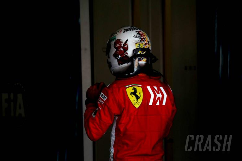 07.10.2018 - Race, Sebastian Vettel (GER) Scuderia Ferrari SF71H