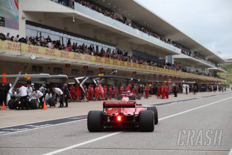 20.10.2018- Qualifying, Sebastian Vettel (GER) Scuderia Ferrari SF71H