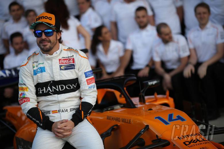 21.10.2018- Fernando Alonso (ESP) McLaren Renault MCL33