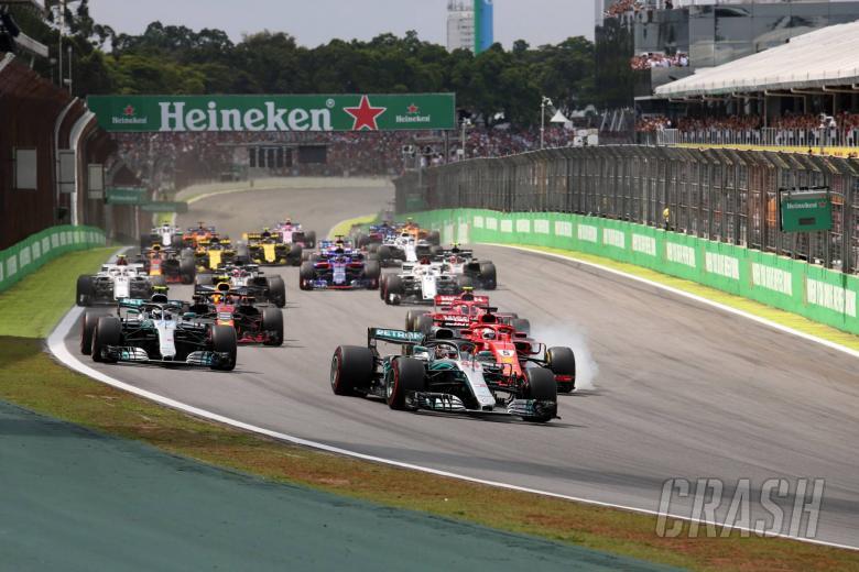 F1 Brazilian GP - Race Results