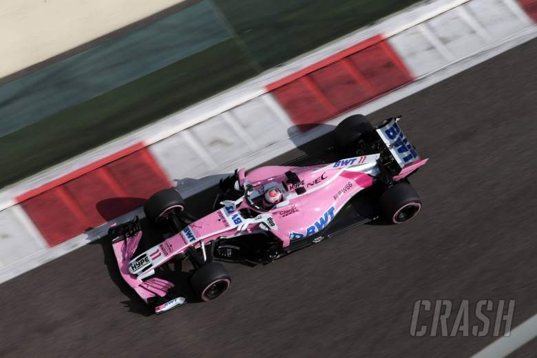 24.11.2018 - Free Practice 3, Sergio Perez (MEX) Racing Point Force India F1 VJM11