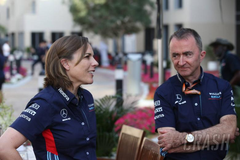 24.11.2018 - Qualifying, Claire Williams (GBR) Williams Deputy Team Principal. and Paddy Lowe (GBR), Williams chief technical officer
