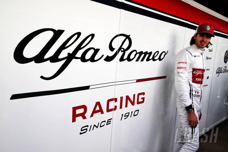 Antonio Giovinazzi (ITA) Alfa Romeo Racing. 18.02.2019.
