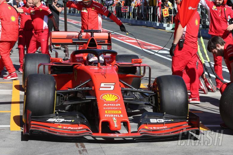 Vettel: Pointless discussing Ferrari team order scenarios