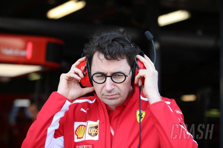 16.03.2019- Mattia Binotto (ITA) Ferrari Team Principal