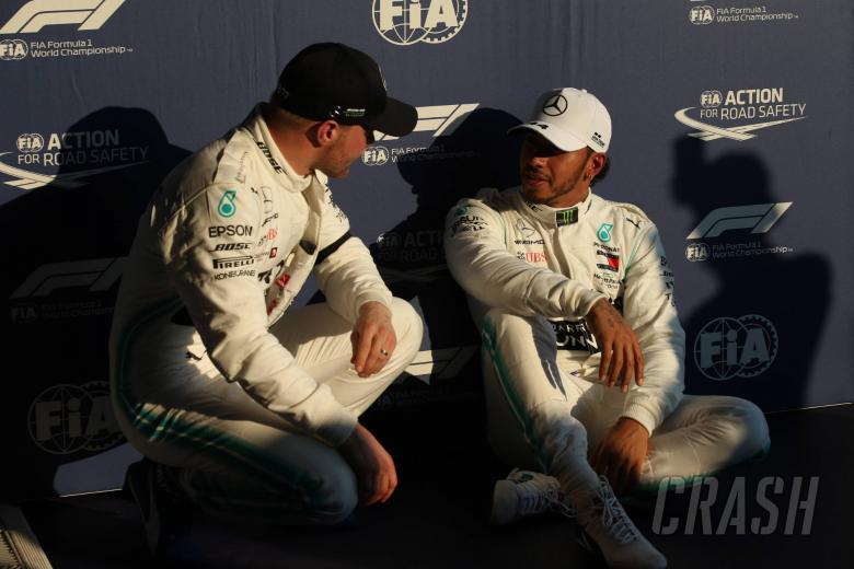 16.03.2019- Qualifying, Lewis Hamilton (GBR) Mercedes AMG F1 W10 EQ Power and Valtteri Bottas (FIN) Mercedes AMG F1 W10 EQ Power