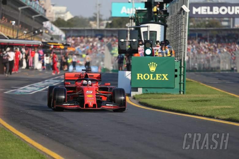 16.03.2019- Qualifying, Sebastian Vettel (GER) Scuderia Ferrari SF90