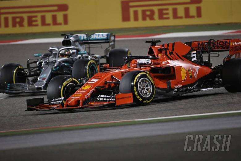Vettel insists Bahrain GP spin not result of mounting pressure