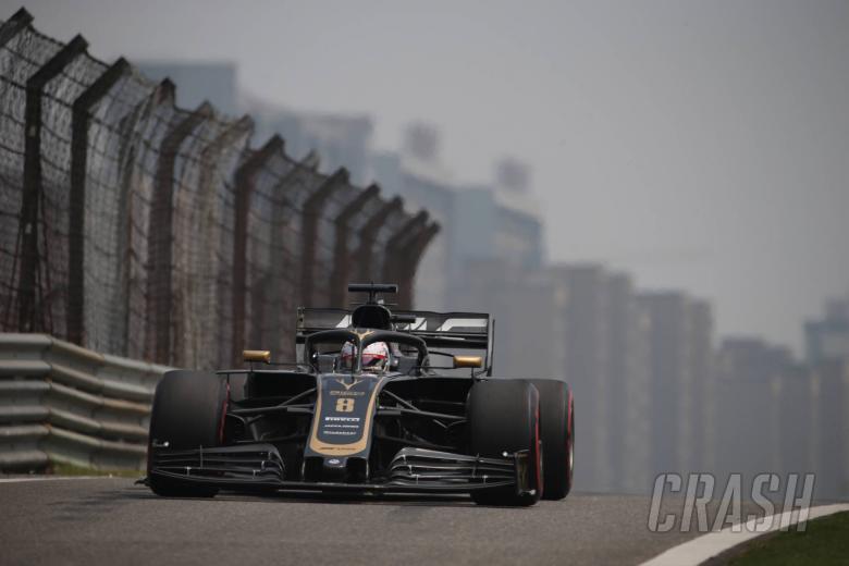 12.04.2019- Free Practice 1, Romain Grosjean (FRA) Haas F1 Team VF-19