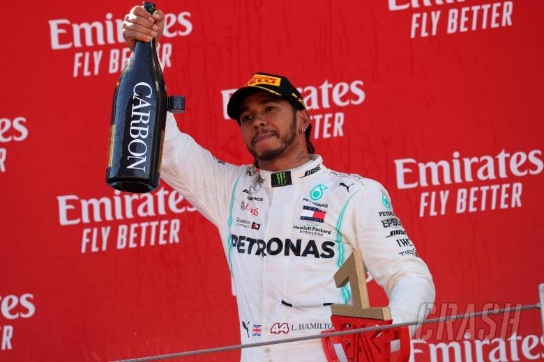 12.05.2019 - Race, Lewis Hamilton (GBR) Mercedes AMG F1 W10 race winner