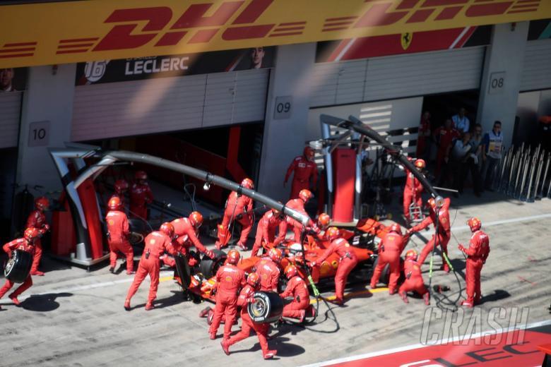 Ferrari suffers radio silence over Vettel pit stop