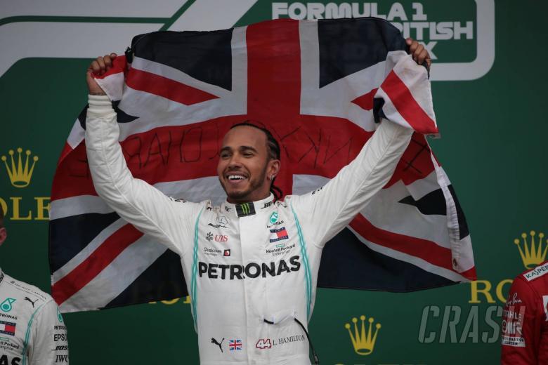 14.07.2019- podium, winner Lewis Hamilton (GBR) Mercedes AMG F1 W10 EQ Power