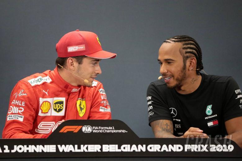 Hamilton: Leclerc continuously outperforming Vettel at Ferrari