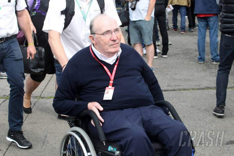 Sir Frank Williams discharged from hospital ahead of Christnas