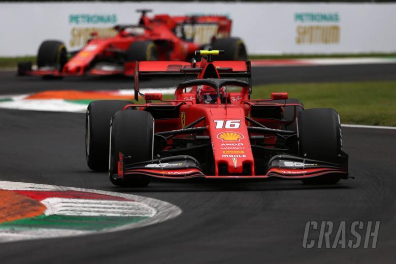 Leclerc: Ferrari won't sacrifice one car to gain tow advantage