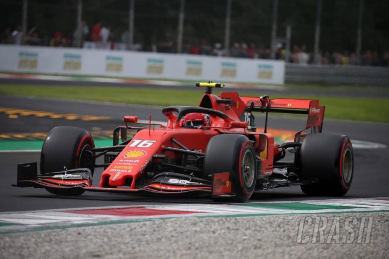 F1 Italian Grand Prix - Race Results