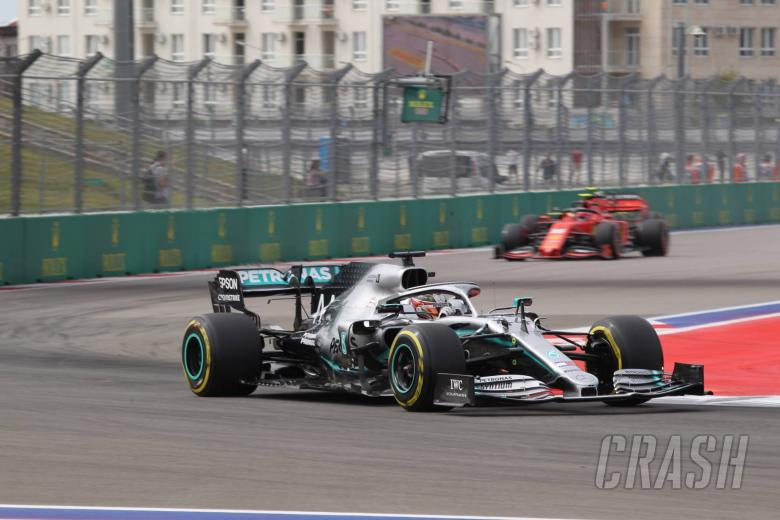 Hamilton: Mercedes losing 0.8s to Ferrari on Sochi straights