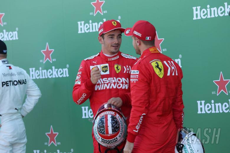 Leclerc: I've shown Ferrari what I'm capable of against Vettel