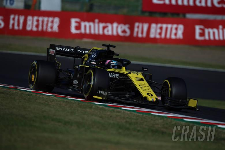 Renault F1 team will not appeal Japanese GP DSQ